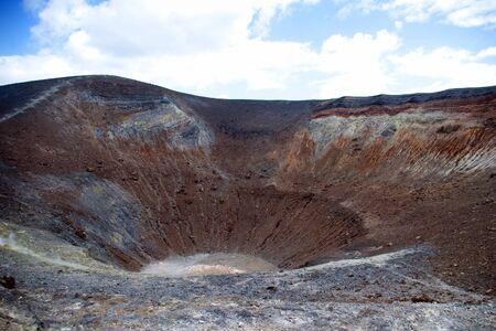 Grand Crater, island Volcano, Lipari Islands, Sicily