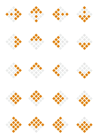 Vector set of arrows Vector