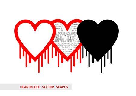 Heartbleed openssl bug vector shape