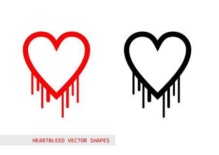 bleed: Heartbleed openssl bug vector shape