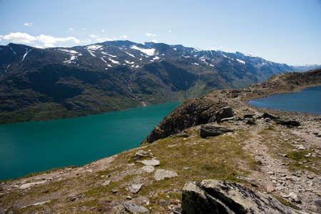 jotunheimen national park: Besseggen Ridge in Jotunheimen National Park, Norway