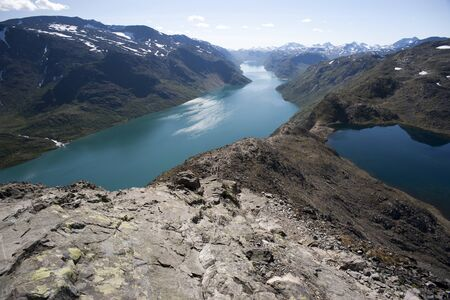Besseggen Ridge in Jotunheimen National Park, Norway