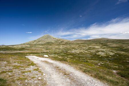 Road in Jotunheimen National Park, Norway