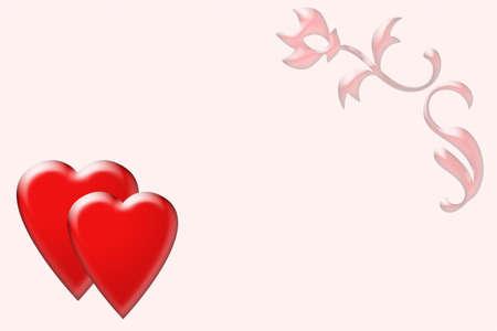 Valentine day postcards