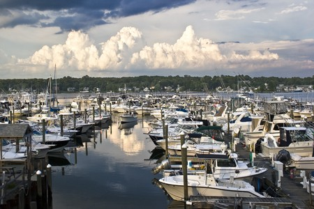 Harbor Hill Marina is located on the Connecticut river in Mystic, Connecticut.