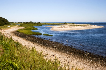 The Peaceful Shoreline.  The peaceful quiet gem of Long Island, New york the Nissequogue river.