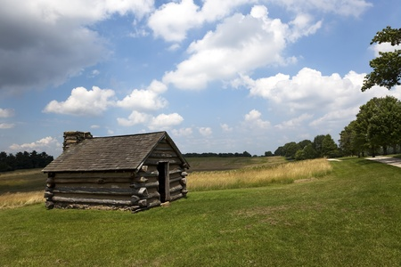 forge: Continental Army Sleeping Quarters Vally Forge