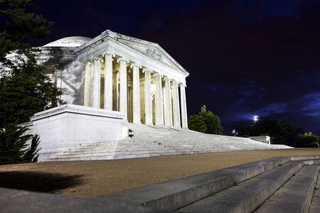 Jefferson Memorial at night   Washington D C