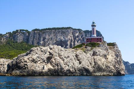 Punta Carena Lighthouse, Capri, Italy