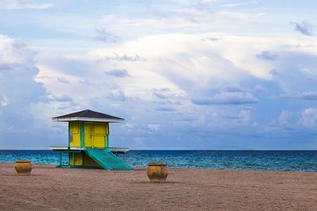 Beach hut  beach, Florida