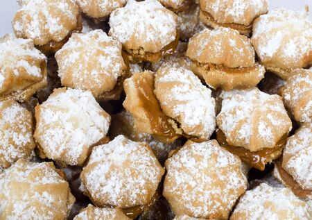 chocolaty: chocolaty cookies with garnished of sugar