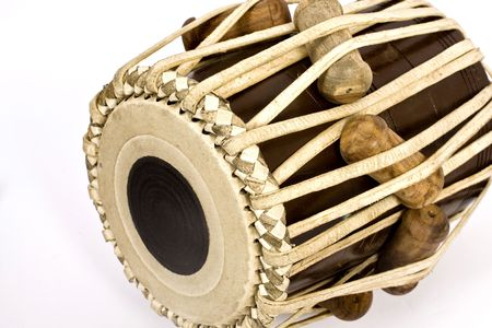 tabla on isolated background