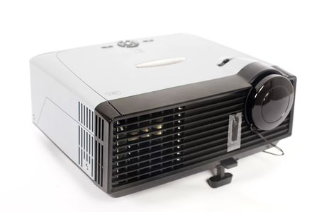 projector on isolated background   Stock Photo