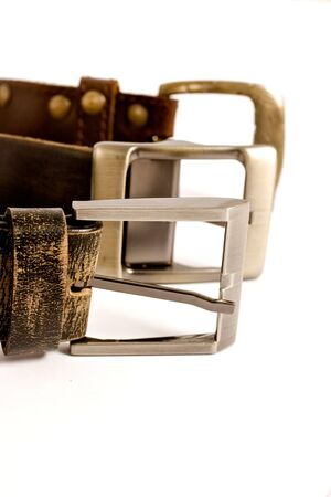 buckles: buckles on isolated backgound