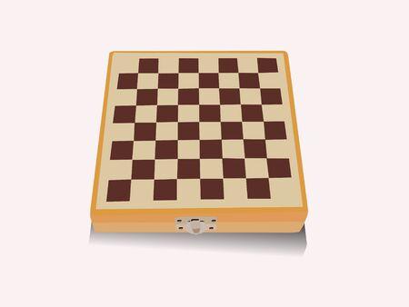wooden chessboard       photo