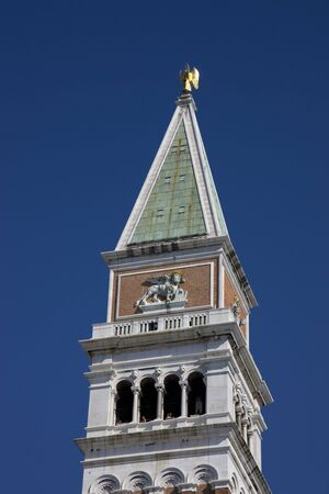 top of famous bell tower Stock Photo