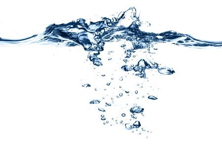 splash water: water splash isolated on white