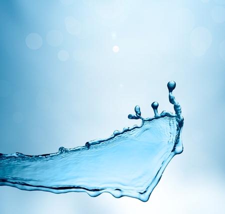 Spring fresh water background Stock Photo - 12050059