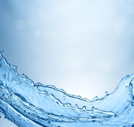 Spring fresh water background Stock Photo - 11247522