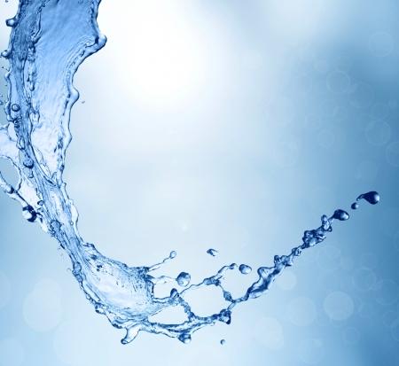 frescura: Primavera de fondo de agua dulce