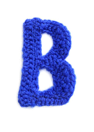 letter of knit handmade alphabet photo