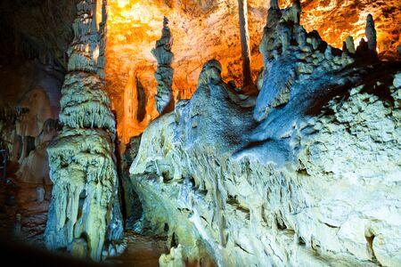 stalagmite: cave interior