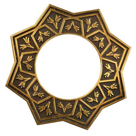 Vintage Gold verzierten Rahmen