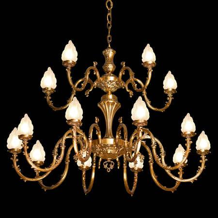 Vintage chandelier   photo