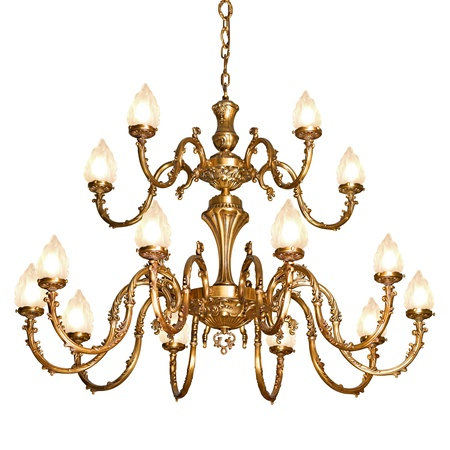 Vintage chandelier  Stock Photo - 12515697