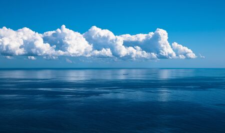 ocean and perfect sky photo