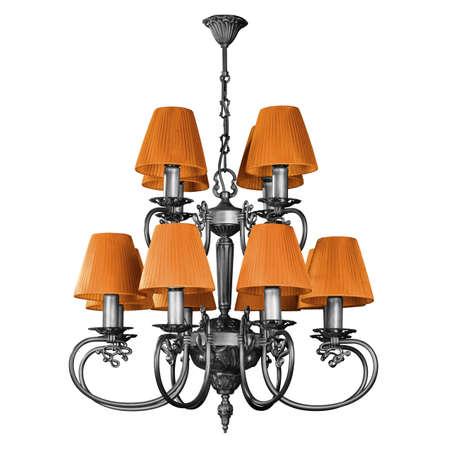 chandelier - decorative element photo