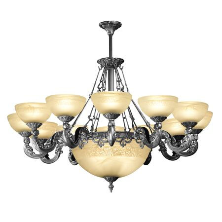 chandelier - decorative element photo