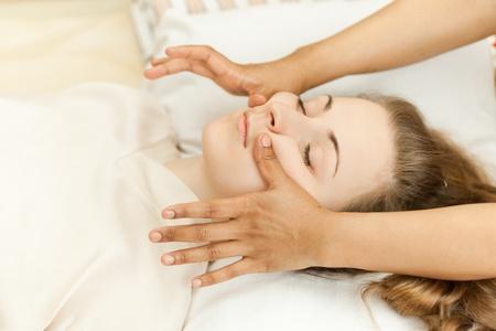 Asiatisch Massage Mädchen Mädchen