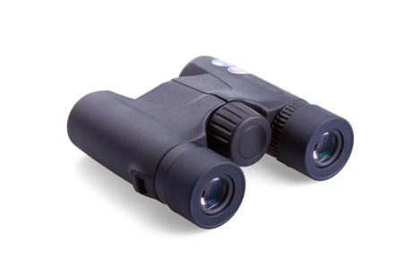 Binocular isolated on white background photo