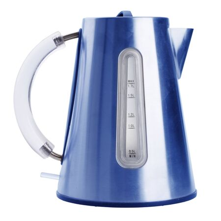 tea kettle: electric kettle isolated on white background