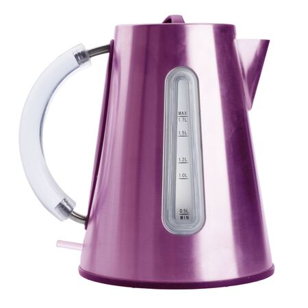 electric kettle isolated on white background Stock Photo - 14091371