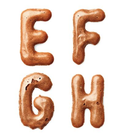 shit: cookie alphabet letter