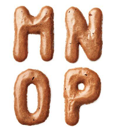 cookie alphabet letter Stock Photo - 18730655