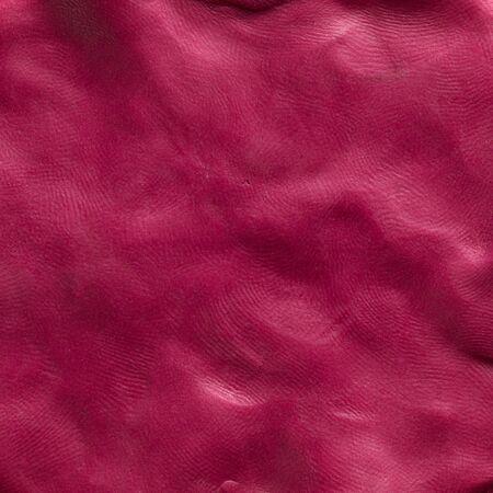 implosion: plasticine texture isolated on white background Stock Photo