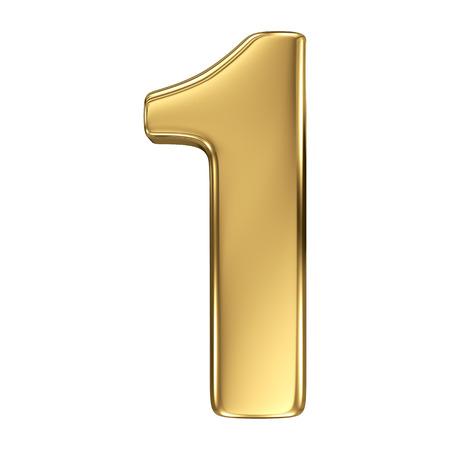 jeden: 3d golden collection číslo - 1