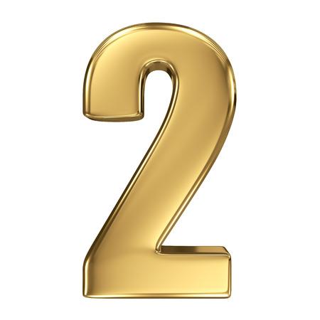 nombre d or: 3d Golden Collection de nombre - 2