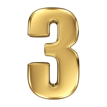 numero uno: 3d colección número de oro - 3