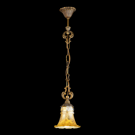 chandelier background: Vintage chandelier isolated on black background with clipping path Stock Photo