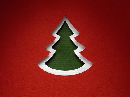 papercraft: Christmas paper background texture papercraft theme