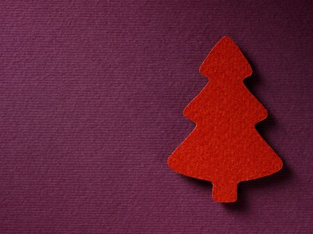 papercraft: Christmas paper background texture papercraft theme. Stock Photo