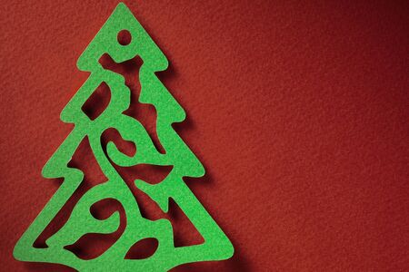 paper craft: Navidad fondo de textura de papel papercraft tema.