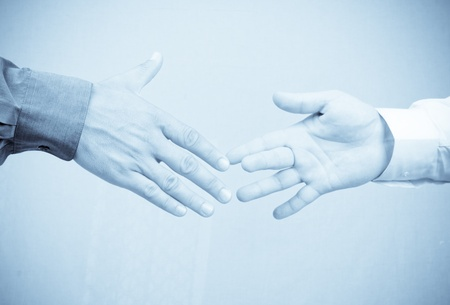 Shaking hands Stock Photo - 8325735