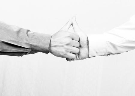 Shaking hands Stock Photo - 8325733