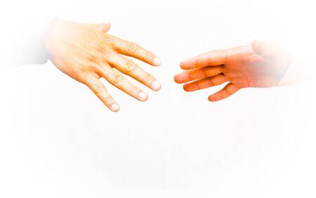 Shaking hands Stock Photo - 8325729