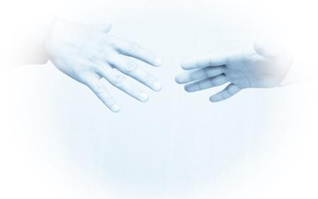 Shaking hands Stock Photo - 8325730